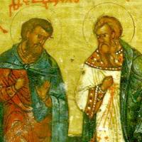 Saints Martyrs Théodule et Agathopous