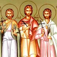 Свети Мученици Трофим, Теофил и други с њима