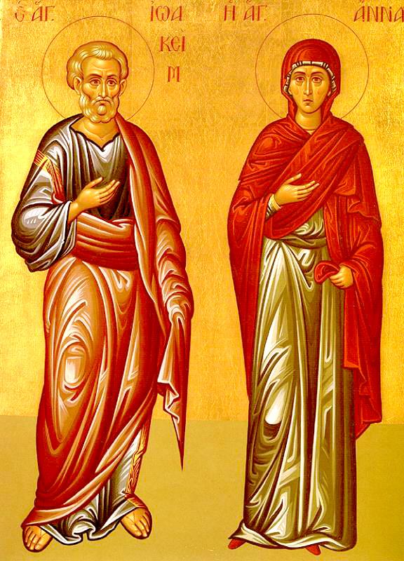 Synaxe des Justes Joachim et Anne