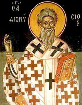 Свети Свештеномученик Дионисије Александријски