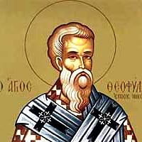 Свети Теофилакт Исповедник, Епископ Никомидијски