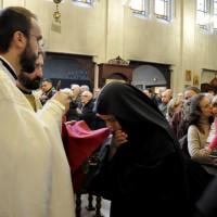 Монахиње из Жиче у Паризу - Свети Сава - Литургија