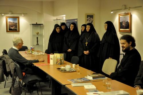 Монахиње из Жиче у Паризу - Свети Сава - Представљање
